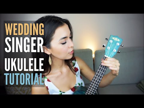Grow Old With You ~ The Wedding Singer (EASY Ukulele Tutorial)