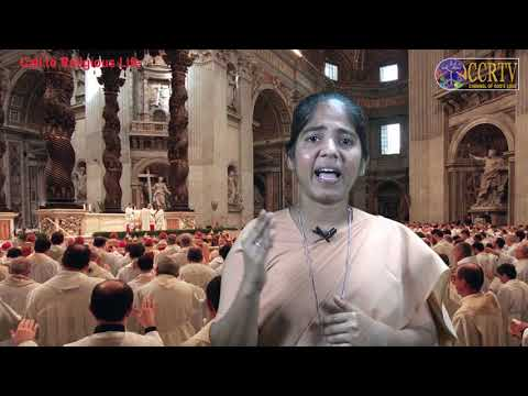 Call To Religious Life By Sr. Saral SCB