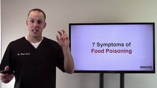7 Symptoms of Food Poisoning