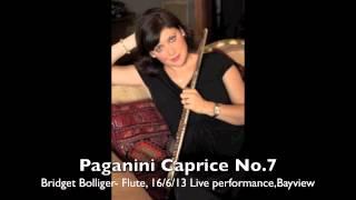Paganini Caprice No. 7