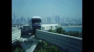 Monorail Dubai The Palm to Hotel Atlantis