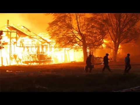 Лесные пожары 2010. Выкса.