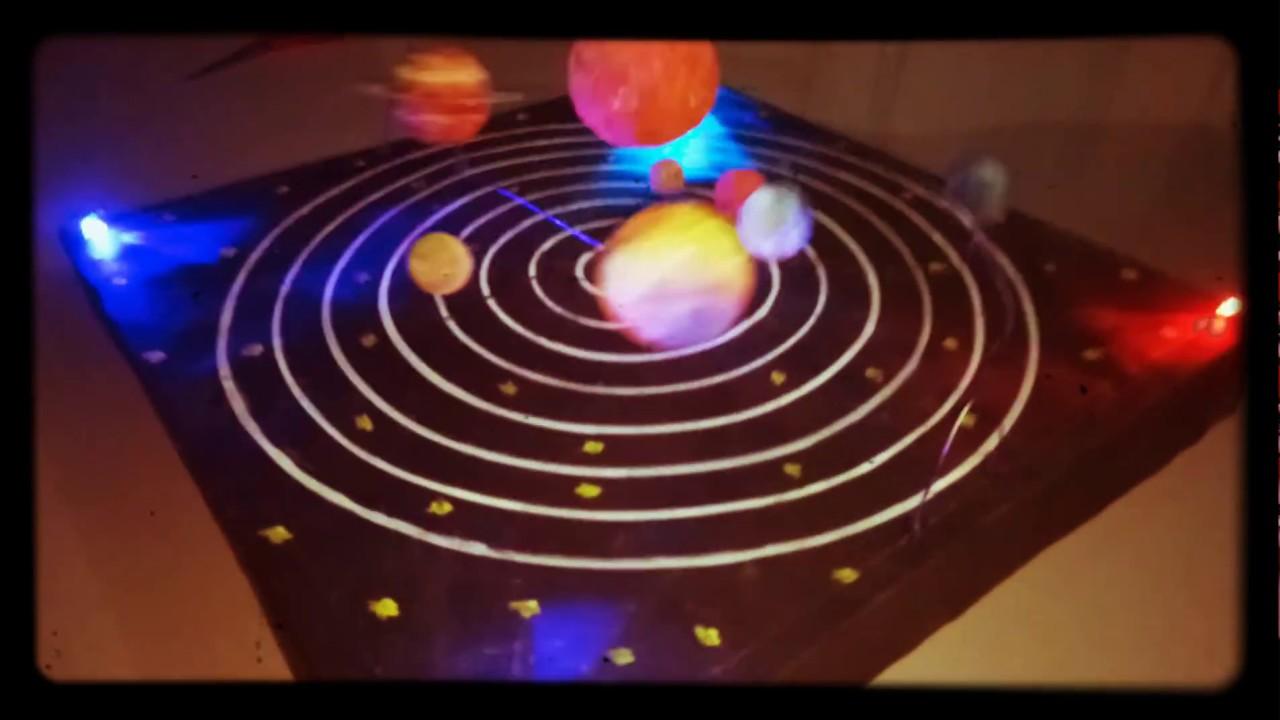 School Project - Working Model of Solar System 2 ( www ...