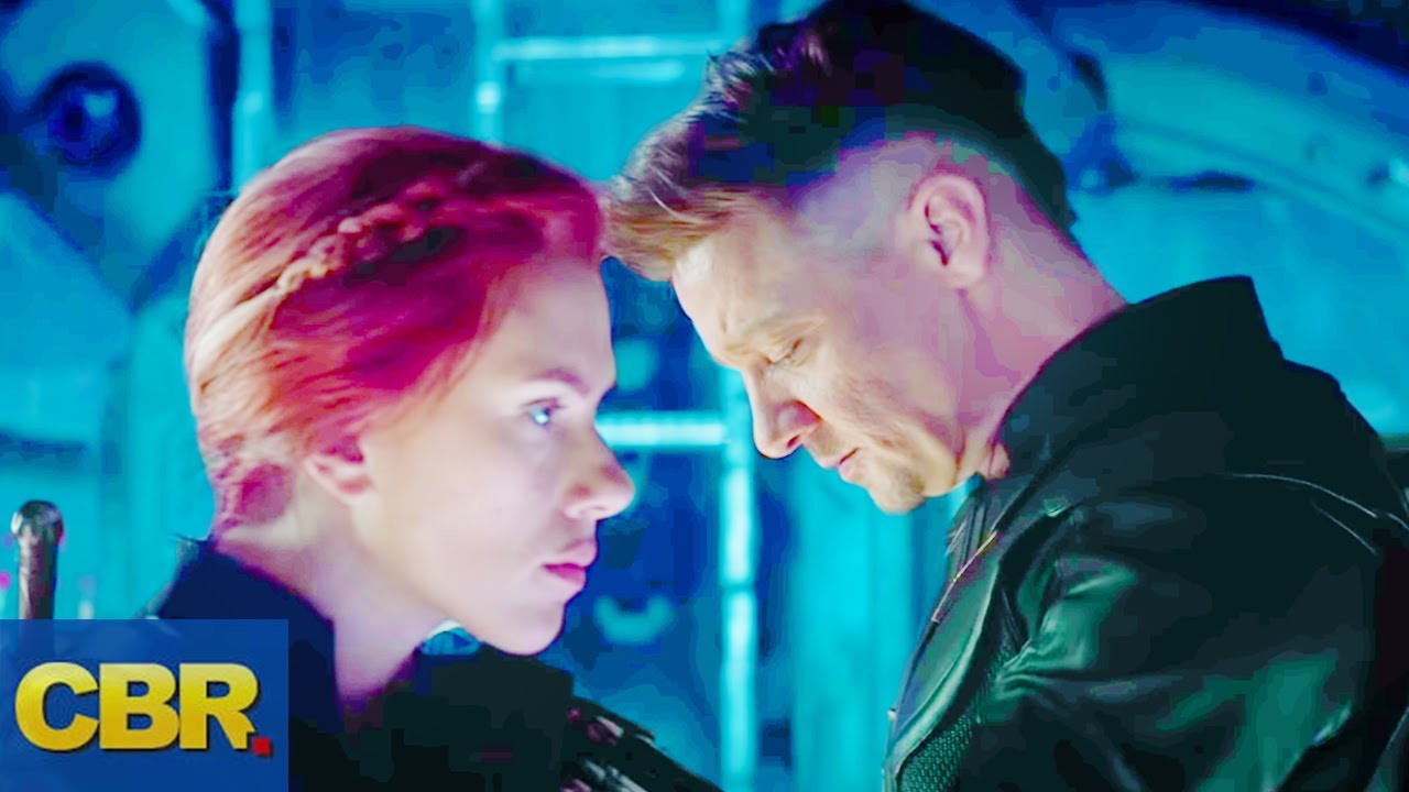 What You Didn T Realize About Ronin And Black Widow In The Marvel Avengers Endgame Trailer
