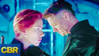What You Didn't Realize About Ronin And Black Widow In The Marvel Avengers Endgame Trailer