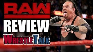 Wrestlemania 33 Championship Match Changed! Mick Foley Fired! | WWE Raw, Mar. 20, 2017 Review
