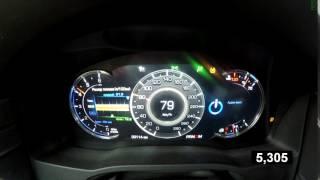 Cadillac Escalade -  Acceleration 0 - 100 (Racelogic)