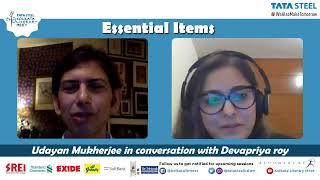 LIVE : Udayan Mukherjee on Essential Items