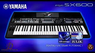 DEMO YAMAHA PSR SX600 sound ethnic pack SET DIVERSIFICAT folclor etc