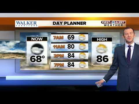 13 First Alert Las Vegas weather May 22 morning