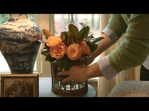 Arranging Flowers with James Farmer | Southern Living