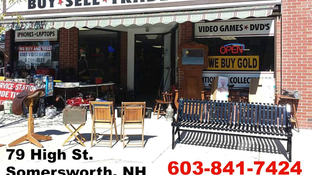 Buy Sell Trade Shop | Somersworth Pawn NH | (603)841-7424 - YouTube
