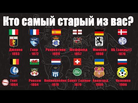17 самых старых футбольных клубов планеты. Среди них не только английские команды.