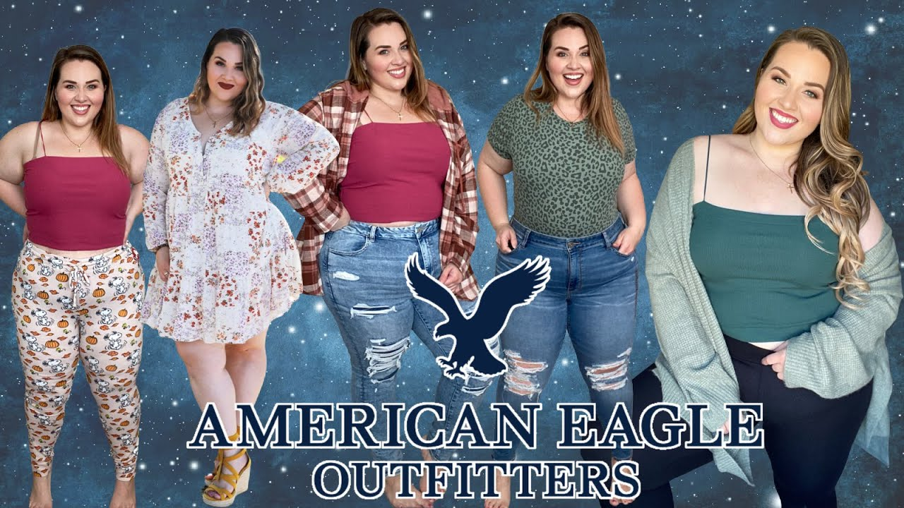 American Eagle Curvy Jeans, Cardigans, & All The Fall Things 🍁 Plus Size Try-On Haul  | Sarah Vargas