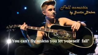 Fall - Justin Bieber Karaoke HD