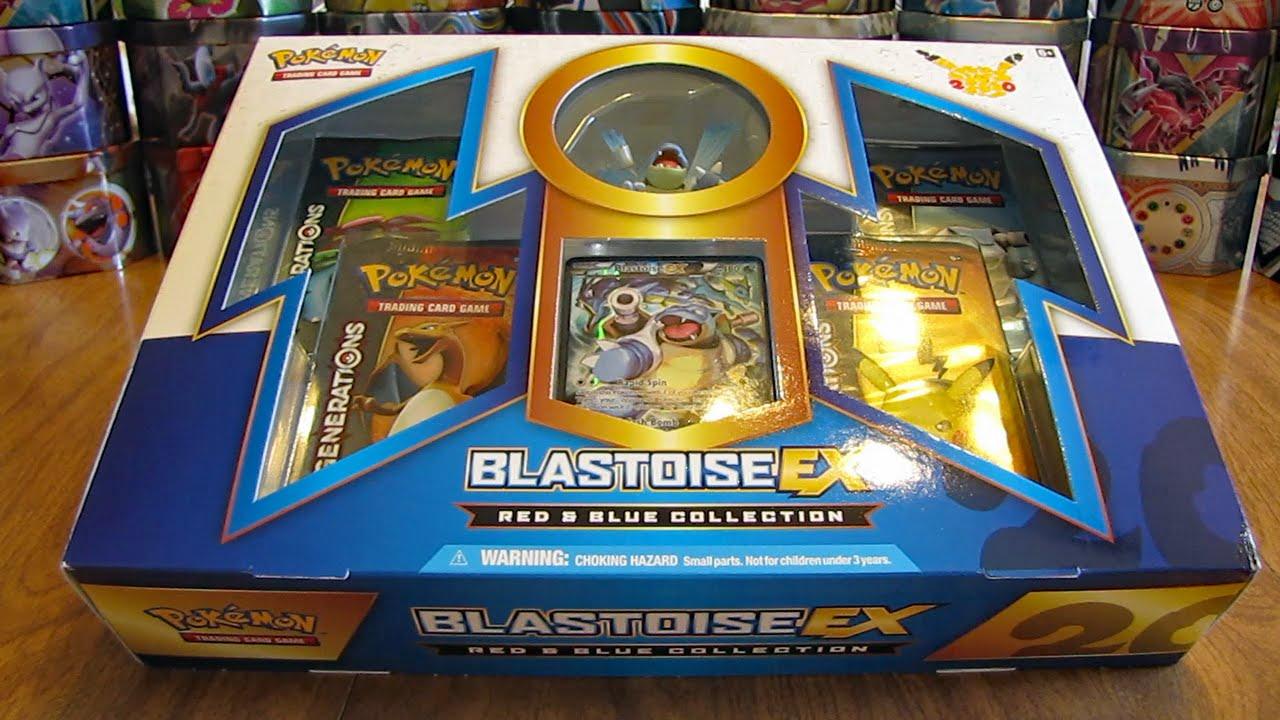 Red Blastoise Blastoise EX Re...