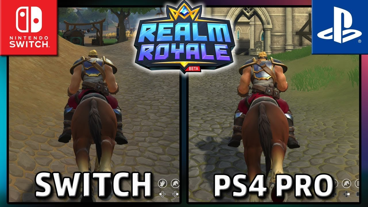 Realm Royale | Switch vs PS4 PRO | Frame Rate TEST