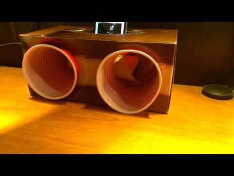 Homemade iPhone Speaker