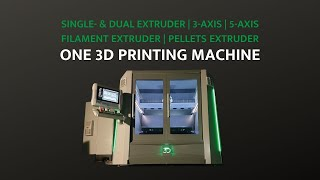 3d printing innovation: 3 technologies in 1 machine! The official HAGE3D 175 Convertible teaser!