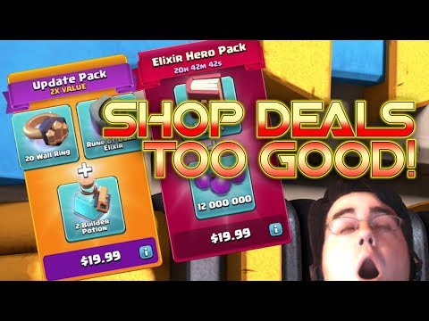 Shop Deals and TOWN HALL 12 GRINDING - Clash of Clans