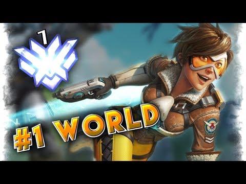 "#1 World Female DPS Player ""Barcode""   Overwatch GOD MONTAGE"