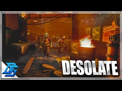 HORROR SURVIVAL COOP GAME - DESOLATE - Pt. 1 - (Desolate Gameplay)