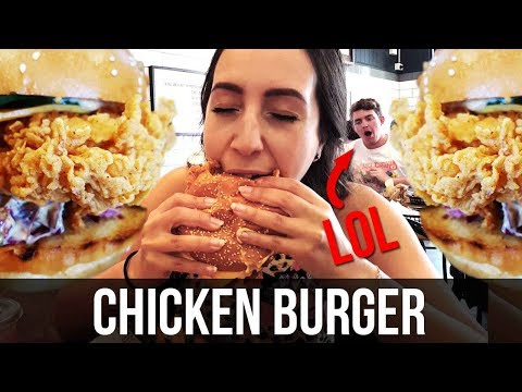 Food Review   Chicken Burger FEAST at Chicken & Sons, Chatswood - Sydney Restaurants