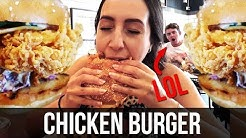 Food Review | Chicken Burger FEAST at Chicken & Sons, Chatswood - Sydney Restaurants