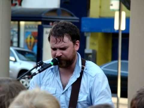 Frightened Rabbit performing