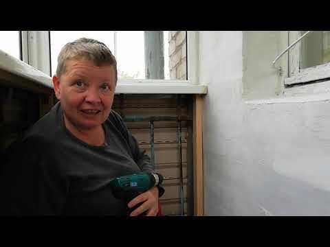 Утепляем балкон. Ремонт в хрущевке женщинами. 3 день