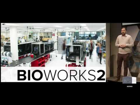 """Biology by Design: Engineering organisms"" by Patrick Boyle: Ginkgo Bioworks at NCC 2016"