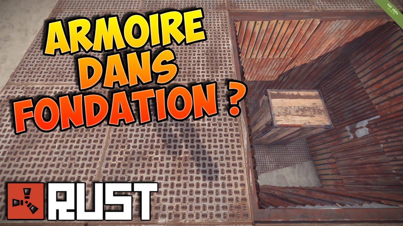 Rust Fr  Astuce Cacher Une Armoire Dans Une Fondation