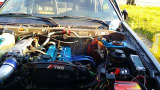 AE86 First Start After 4AGE Motor Swap