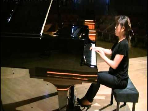 Sukyeon Kim plays Beethoven Sonata op. 31 no. 3 - 4th Mov.