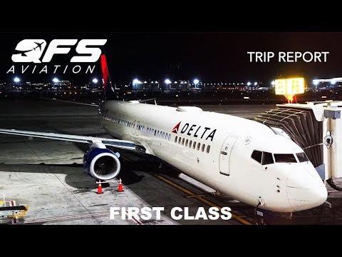 TRIP REPORT | Delta Airlines - 737 900ER - Phoenix (PHX) to New York (JFK) | First Class