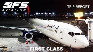 TRIP REPORT | Delta Airlines - 737 900ER - Phoenix (PHX) to New York (JFK) | First Class