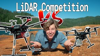 Ultimate LiDAR Drone Competition: DJI LiVOX mid-40 vs RIEGL miniVUX