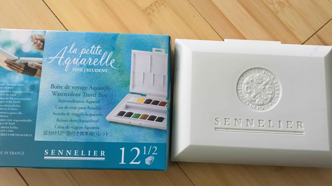 Sennelier La Petit Aquarelle Watercolor Set Review For Adult
