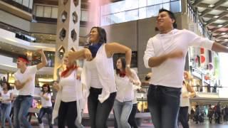 Flash Mob de la République dominicaine à Montréal