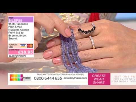 How to Make Beaded Jewellery: JewelleryMaker LIVE 5/07/2015