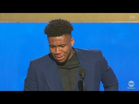 Giannis Emotional MVP Speech & Moved To Tears After Winning Award! 2019 NBA Awards