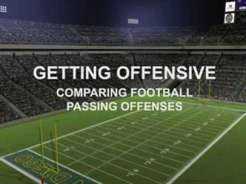 Getting Offensive: Comparing Football Passing Offenses