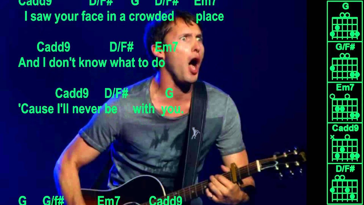 You're Beautiful by James Blunt Lyrics Chords - Chordify