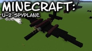 Minecraft: Lockheed U-2 Spyplane Tutorial