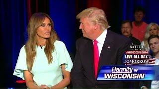 Melania Trump on Advice She Gives to Her Husband