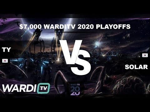 TY vs Solar (TvZ) - $7,000 WardiTV 2020 Playoffs