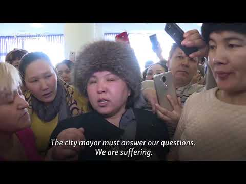 Kazakh Mothers Turn Grief Into Demands For Action