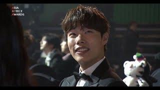 20171115 AAA 류준열 베스트 스타상(레카+소감) with.박서준