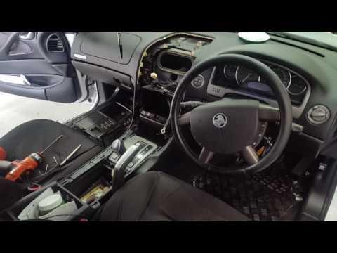 How to install a head unit into a Holden Pontiac Chevrolet  commodore VZ