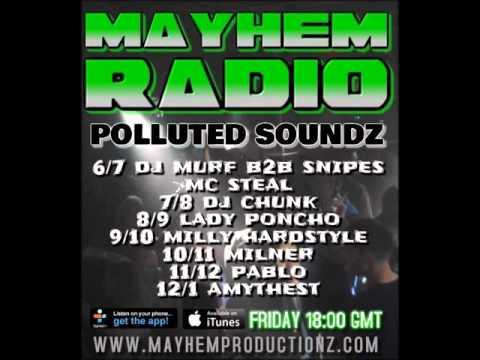MURF & SNIPES FT MC STEAL - LIVE ON MAYHEM RADIO